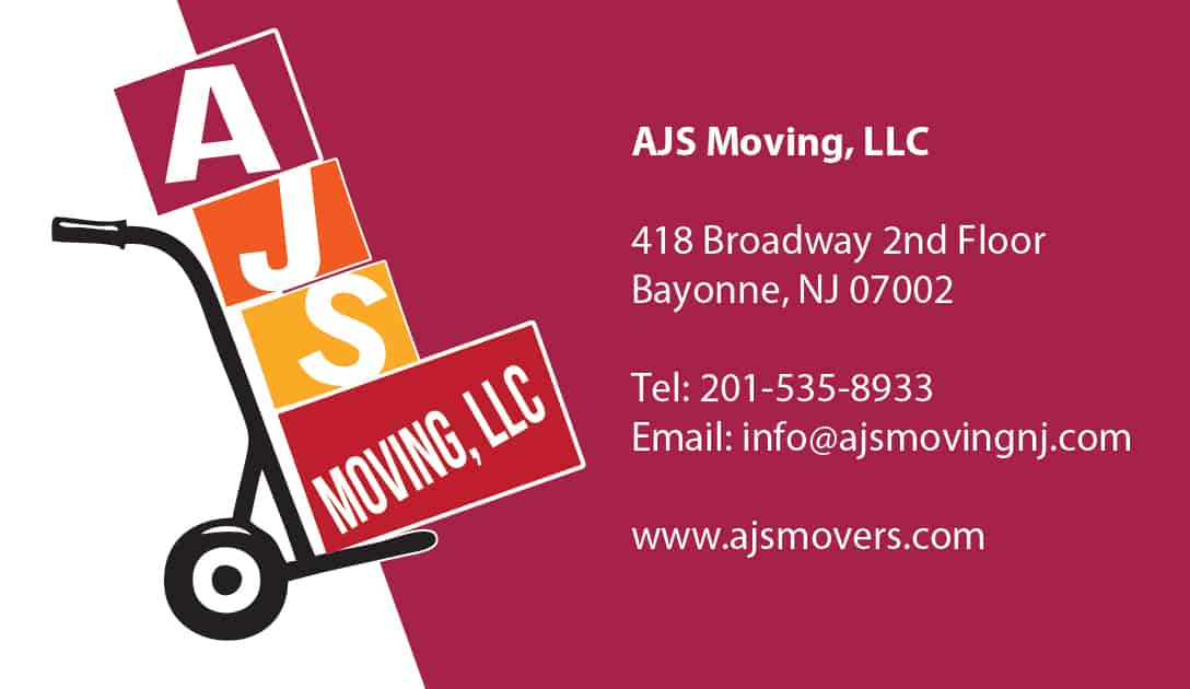 AJS business card